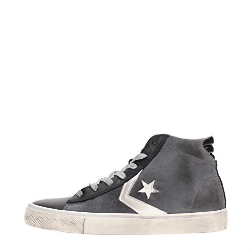 Converse Pro Leather Vulc Mid Suede/Leather - 155102cs - (38, THUNDER/BLACK/TURTLEDOVE)
