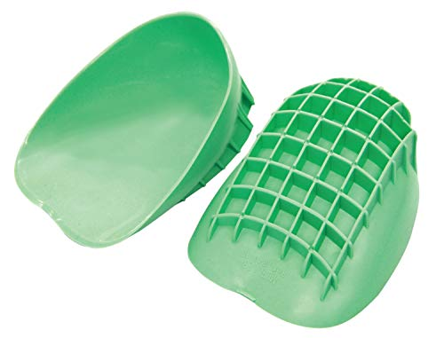Mueller Sports Medicine Pro Heel Cups, Green, Large (Sold in Pair)