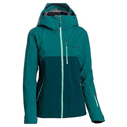 ATOMIC Damen W REVENT 3L GTX Jacket Weste, grün/dunkelgrün, L