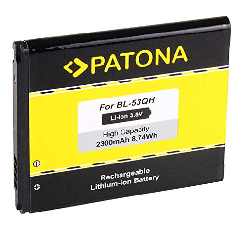 Batteria BL-53QH per LG Optimus 4X HD (P880) | LG Optimus F5 (P875) | LG Optimus L9 (P760) | LG Optimus L9 II (D605) [ Li-ion 2300mAh / 3.8 V ]