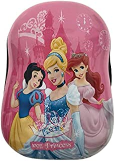 3D Disney Princess Backpacks, Kids Disney Princess School Bags,3D Cartoon Children Bags (Light Pink)