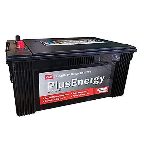 PlusEnergy Monoblock-accu, 200 Ah, 12 V, op zonne-energie, onderhoudsvrij, verzegelde batterijen.