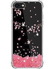 Kinnter - Carcasa de silicona para iPhone SE (2020), ultrafina, TPU, antigolpes, diseño original para iPhone SE (2020)