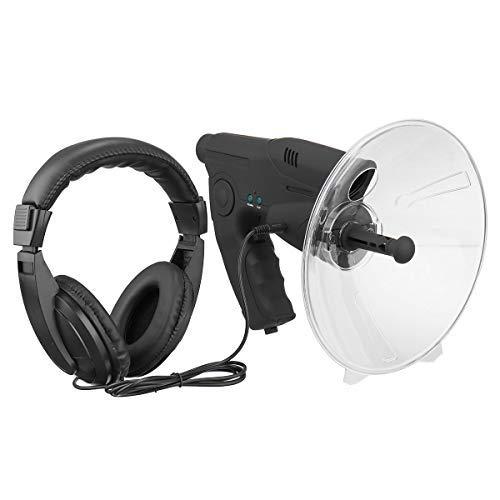Ugetde ) Extreme Sound Amplifier Spy Ear Bionic Dispositivos de escucha de observación de la naturaleza Dispositivos de observación para auriculares, dispositivo de escucha de largo alcance