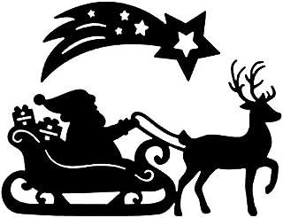 Matrices de découpe | Père Noël avec traîneau | Lot de 2
