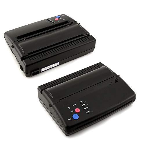 BTdahong Tattoo Kopierer Thermo Thermokopierer Thermal Tätowierung Transfer Machine A4 Paper + Stromkabel AC 110-220V