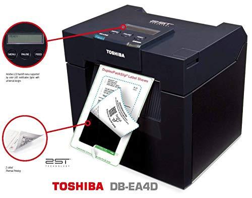 Toshiba DB-EA4D 200dpi 2-seitiger Thermo-Barcode-Etikettendrucker, USB/LAN/Parallel, DB-EA4D-GS12-QM-R, 18221168738