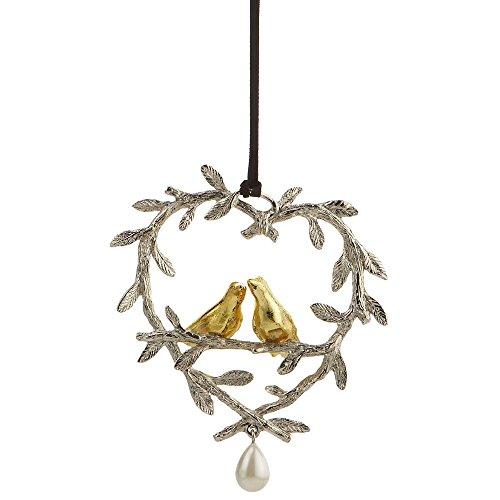 Michael Aram Lovebirds Decorative Ornament