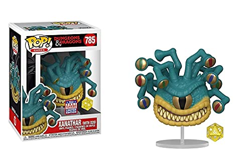 Funko Pop! Dungeons & Dragons Xanathar with D20 Dice from #785 Vinyl Figure 2021 Summer Convention Exclusive