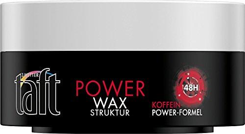Schwarzkopf 3 Wetter taft Power Wax Lot de 5 pots de cire 75 ml