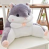Shoze Lumbar Pillows Cute Lounger Back Pillow Bed Rest Support Bed Office Home Seat Backrest Cushion