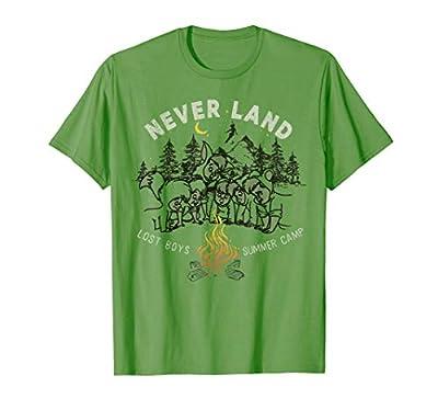 Disney Peter Pan Lost Boys Summer Camp Portrait T-Shirt