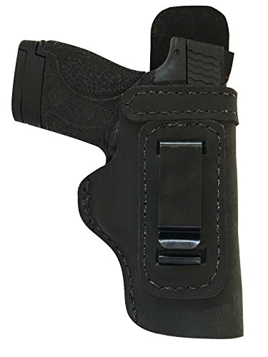 Custom Made Hand FIT Leather Holster Black RH Right IWB w/Body Shield CZ 75 P-07