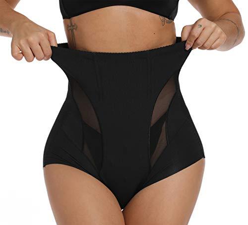 SURE YOU LIKE Damen Shapewear Hohe Taille Body Shape Figurformende Miederhose Taillenslip Slip sexy Unterwäsche Schwarz 38-42 ( Hesteller...