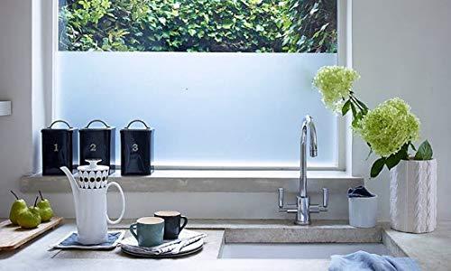 DirectSupply Prohouse Sichtschutzfolie für Fenster | 58 x 200 cm Fenster Milchglasfolie für mehr Privatsphäre | Selbstklebende/Statische Fensterfolie hält unerwünschte Blicke draußen