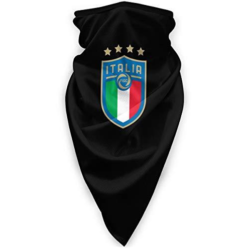 Italian Football Multifunctional Sun Mask, Neck Gaiter,Breathable Seamless Tube Face Shield,Ski Mask,Stretchable Tubular Mask, Bandana, Balaclava, Great for Men & Women