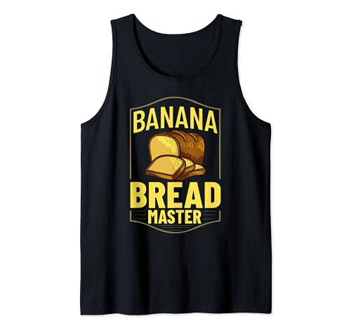 Pan de plátano Receta de Chocolate Chip Nueces Veg Camiseta sin Mangas