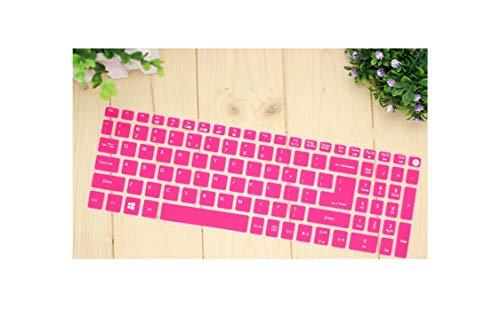 15.6 17 Inch Keyboard Cover Protector for Acer Aspire V15 V17 VN7-592G VN7-792G F5-573G / Aspire 3 A315 / Aspire 7 A715 A717-rose-