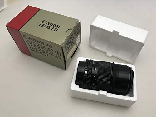 Canon FD 135mm 2.8 Lens A-1 AE-1 at-1 AL-1 F1