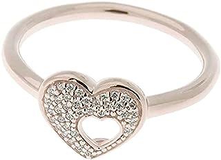 Pandora Women's Multi Tone Gold Zircon 18K Ring, 7 US - 186550CZ-54