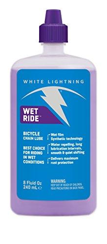 White Lightning Wet Ride Lube Huile 120 ML