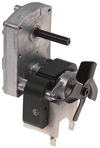 SPG ISG-31220ADA Getriebemotor für Toaster Lincat 230V 5,5U/min 50Hz Welle ø 8x7mm AC