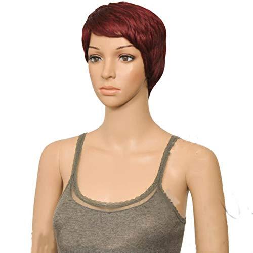 MARYSHARON Women Synthetic Hair Short Straight Pixie Style High Heat Fiber