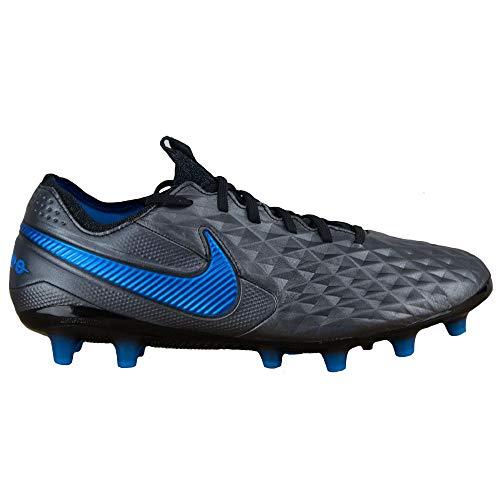 Nike Unisex Legend 8 Elite Ag-Pro Fußballschuhe, mehrfarbigr schwarzer schwarzer Blauer Held 4, 42 EU