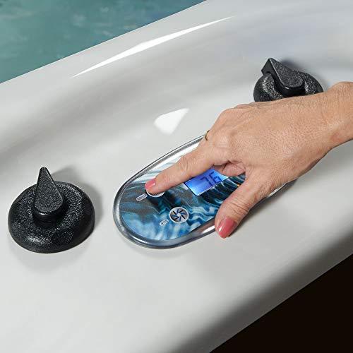 Essential Hot Tubs 50-Jets 2021 Polara Hot Tub, Seats 5-6, Gray