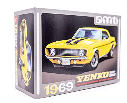 AMT 1969 Chevy Camaro Yenko - 1/25 Scale Model Kit - Buildable Vintage Vehicles for Kids and Adults