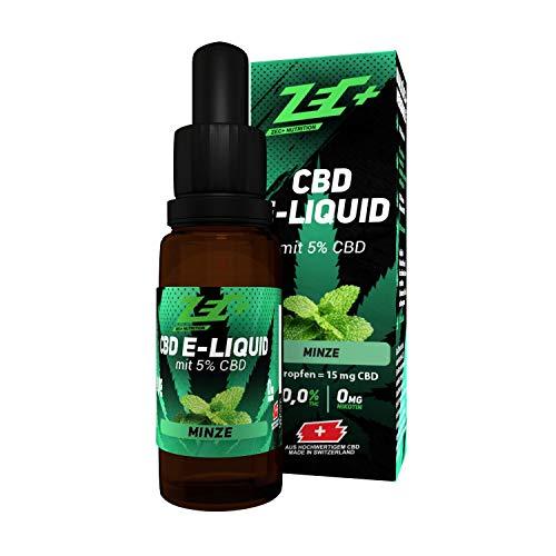 ZEC+ CBD LIQUID | 5% CBD | 10ml Minze -...