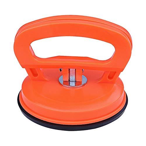JAP768 1pc 11.5 * 10cm Aluminiumlegierung Auto Body Dent Removal Tools Auto Dent Remover Pullerliftung Saugerautoreparatursatz Glass (Farbe : Orange)