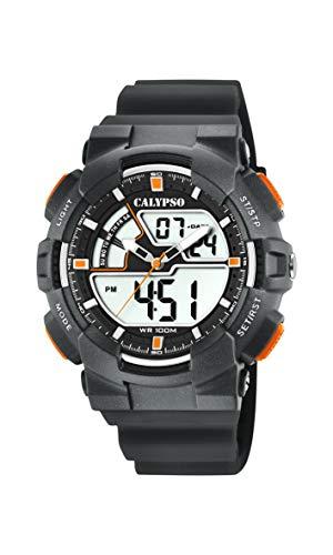 Calypso Watches Reloj Analógico-Digital para Hombre de Cuarzo con Correa en Plástico K5771/4