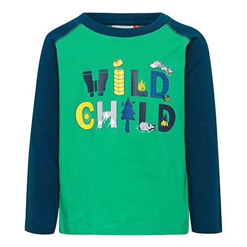 Lego Wear Duplo Boy Lwterrence 651-Langarmshirt T-Shirt À Manches Longues, Vert (Green 866), 95 (Taille Fabricant: 80) Bébé garçon