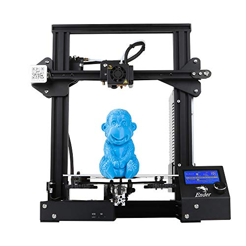 ETE ETMATE Official Creality Ender 3 3D Printer Fully Open Source with Resume Printing All Metal Frame FDM DIY Printers 220x220x250mm
