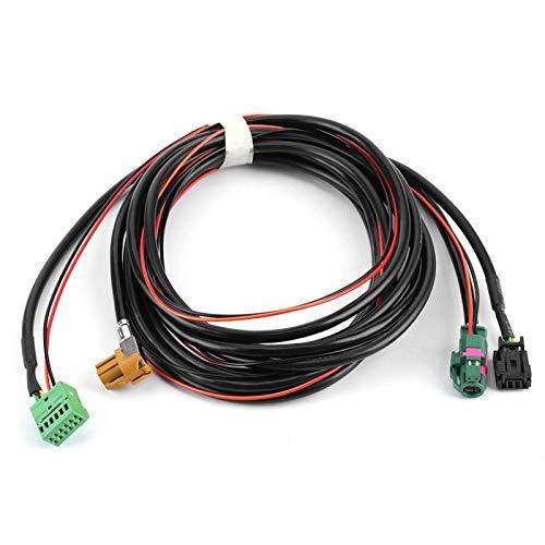Cable de interruptor Carplay, arnés de interruptor USB AUX de teléfono MIB Carplay MQB 5G0 035222 E5Q0 035724 apto para Lamando