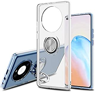 UEKING Case For HUAWEI Mate 40 Pro, Transparent Back Case Magnetic Car Function Anti-Scratch Durable Shock Absorption HUAW...