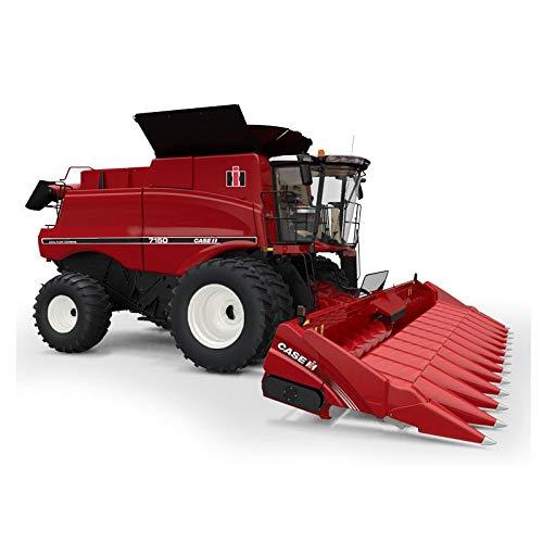 Case IH 1/64 Authentics #10 Limited Edition Vintage IH 7150 Combine with Corn and Grain Header 44176 -  ERTL, ZFN44176