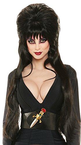 Rubie's Elvira Deluxe Wig Black