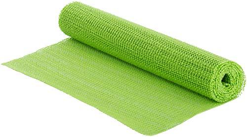 Brandsseller Anti-Rutschmatte 150 x 30 cm individuell zuschneidbare Rutschschutzunterlage Grün