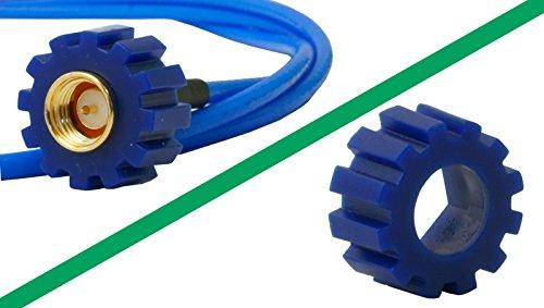 10x SMA Plastik Schraubhilfe Drehmomentschlüssel-Ersatz Schlüssel Rändelmutter