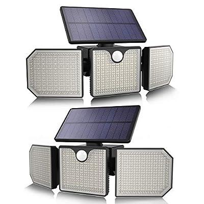 Solar Lights Outdoor,VAPTEC 230 LED 2000LM Sola...