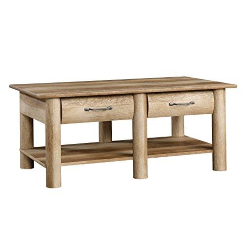Sauder Boone Mountain Coffee Table, Craftsman Oak Finish