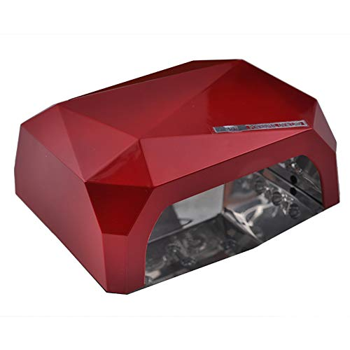 Auto Sensor 36W LED Light Diamond Shaped Best Curing Nail Dryer Nail Art Lamp Care Machine voor UV Gel Nagellak