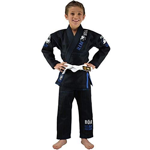 Bõa GI Leão 2.0, GI Kimonos (Brazilian Jiu Jitsu) Niños, negro, M4/140
