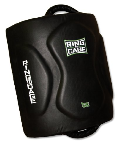 Ring to Cage Muay Thai Low/Leg Kick Pad - Geltech Curved for Muay Thai, MMA, Kickboxing