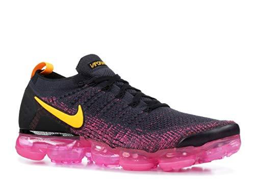 Nike Air Vapormax Flyknit 2, Gridiron/Laser Orange, 11.5 1