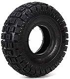 Neumáticos para patinetes eléctricos Neumáticos para patinetes eléctricos, neumáticos Interiores y Exteriores Antideslizantes de 2.80/2.50-4, neumáticos de Domo de 4 Capas Resistentes al Desgaste,
