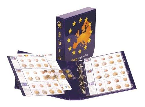 Lindner 8450 Album pré-imprimé EURO COLLECTION: séries euro courantes de tous les pays Euro