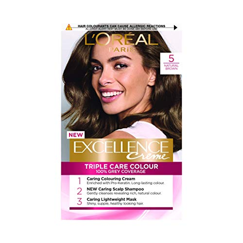 L'Oreal Excellence Permanent Hair Colour 5 Natural Brown